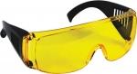 Очки защитные желтые с дужками.., FIT, 12220