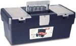 Ящик для инструментов синий + карман № 12, TAYG, 112003