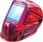 "Маска сварщика ""Хамелеон"" ULTIMA 5-13 Panoramic Red, FUBAG, 992510"
