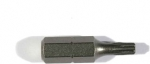 "Биты ""PROFI"" Cr-V сталь, тип хвостовика C 1/4"", 25 мм, T30 - 1 шт, Т40 - 1шт, 2 шт, STAYER, 26281-30/40-25"