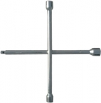 "Ключ-крест баллонный, 17 х 19 х 21 мм, под квадрат 1/2"", толщина 16 мм, MATRIX, 14247"